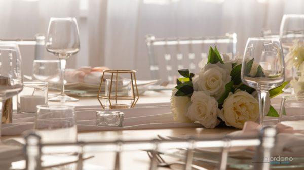 Allesimenti Rosa Oro Matrimonio